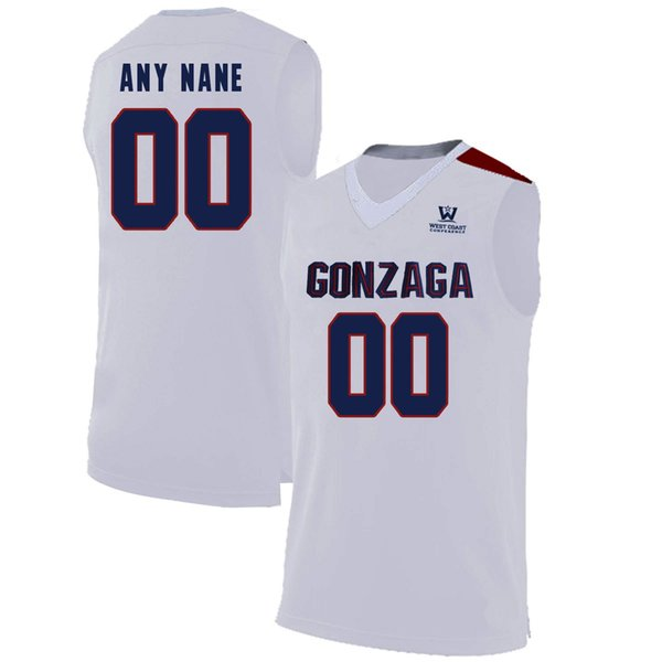 Alex Martin Gonzaga Bulldogs Basketball Jersey - Black