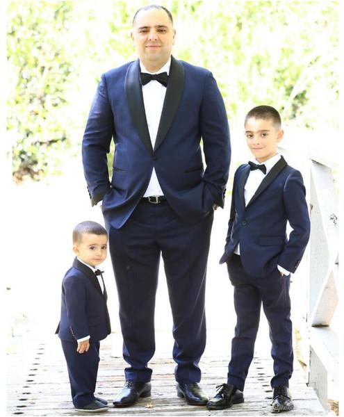 Smoking da cerimonia formale 2019 Classic Fit Groom Adatto Back Vent Boys Smoking vestito formale Custom Made For Weddings Groomsman Wear
