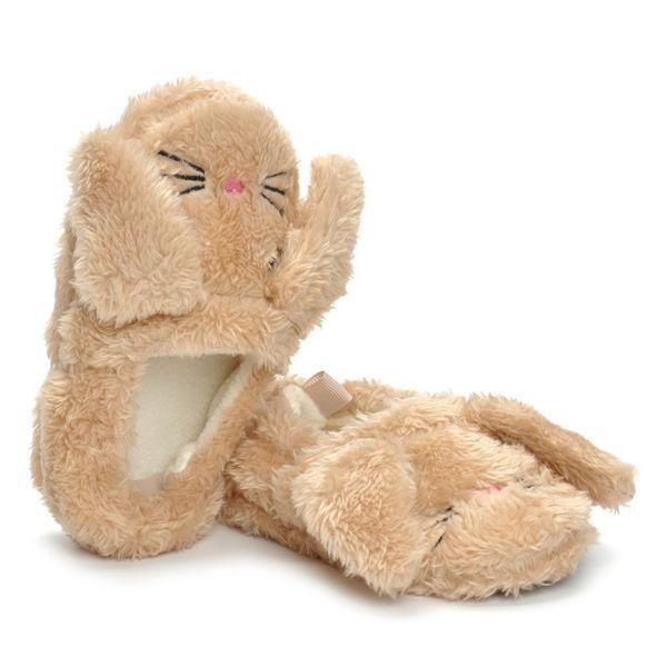 2019 Children's Winter Warm Slipper Shoes For Kid Baby Boys Girls Cartoon Animal Indoor Warm Slipper Soft Sole CasualShoes