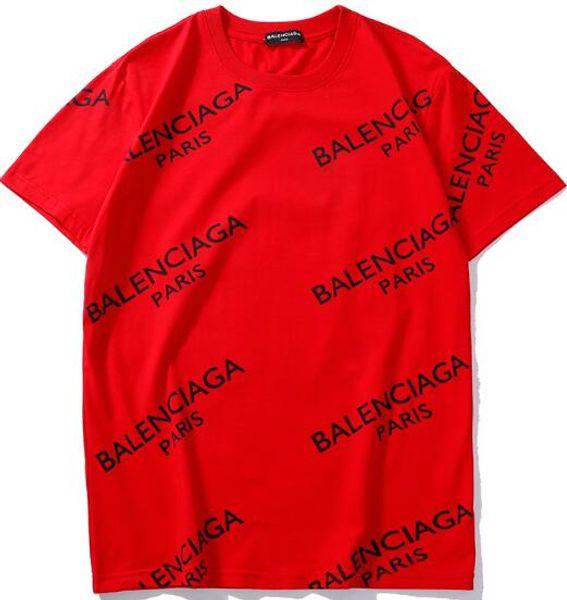2019 MO Designer T-shirt Cartoon Bear Impreso Verano Hombres Mujeres Skateboard Street Mangas cortas camisetas Casual hombres camiseta