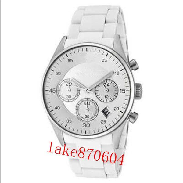 Drop Shipping WOMEN Men Stainless steel chronograph AR5867 AR5868 AR5891 AR5906 AR5920 38MM AR1485 AR1486 AR1487 military quartz watchES