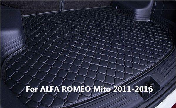Waterproof Car Rear Cargo Boot Trunk Cargo liner Mat Pad For ALFA ROMEO Mito 2011-2016