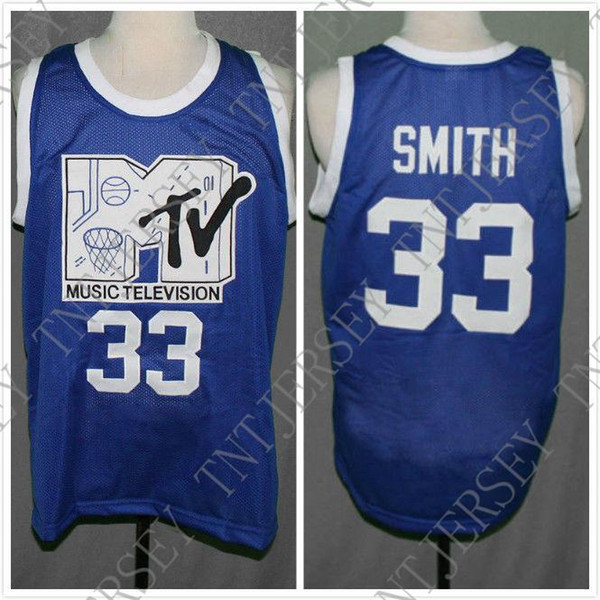 Cheap custom Basketball Jersey First Annual Rock N' Jock B-Ball Jam 1991 Stitched Customize any name number MEN WOMEN YOUTH JERSEY XS-5
