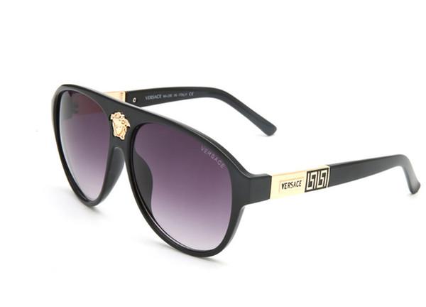 Luxury-medusa Высокое качество Марка EA Солнцезащитные очки мужские модные солнцезащитные очки Дизайнерские очки Мужские женские солнцезащитные очки новые очки с коробкой