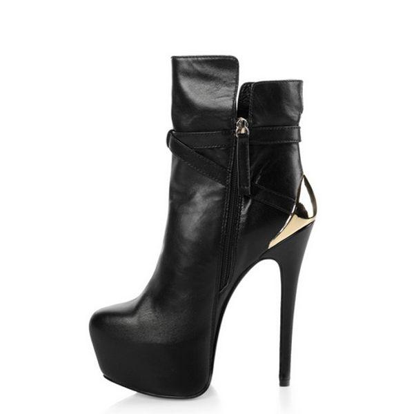 New stylish Winter Knee High Boots Women Wedge Heel shark lock Strap fold point toe ladies knight Layer Boots