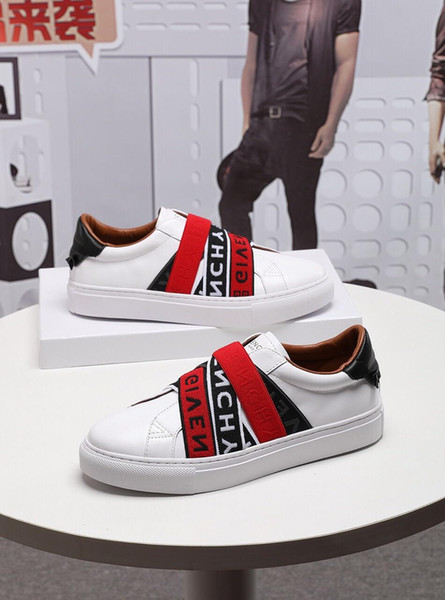 top popular 2019n new limited edition custom luxury men's casual shoes, men's trend striped gentleman fashion sports shoes, yards: 38-45 2019