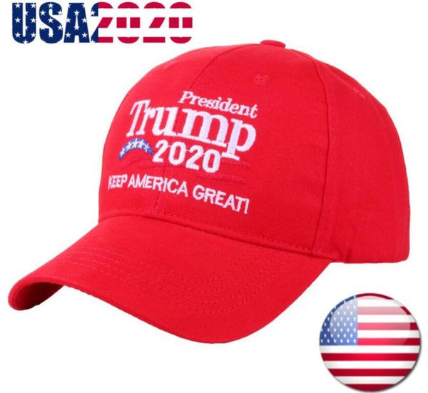 top popular Donald Trump 2020 Keep Make America Great ! Cap DHL Free Shipping President Election Hat Red Black 2020