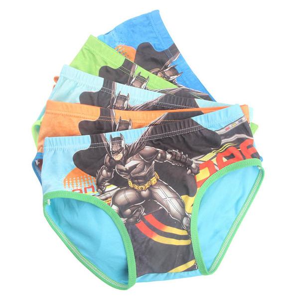 top popular New Boys Underwear Boys Briefs cotton cartoon Children Briefs Kids Briefs Kids Underwear boy underpants kids designer clothes boys A5822 2019