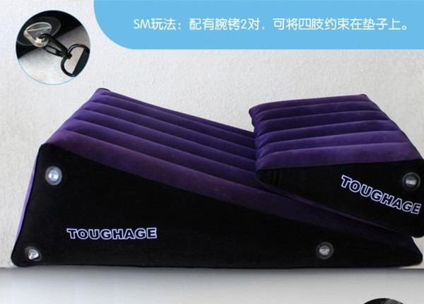 TOUGHAGE Adult Furniture Set G Spot Toys For Men Women Sofa Couples Inflatable Wedge Love Sex Cushion C18122801