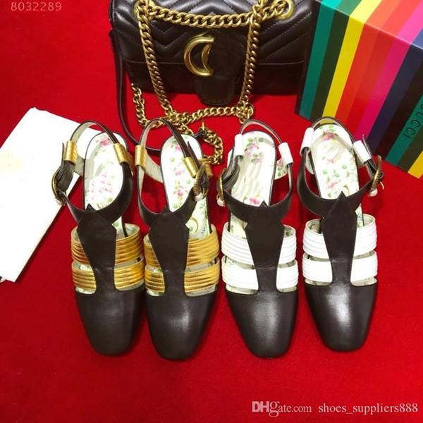 İlkbahar / yaz yeni yüksek topuklu sandaletler, Altın kaplama retro metal Kalp şekli toka, moda kadın sandalet