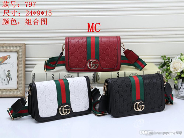 LMK 797 MC Best price High Quality women Ladies Single handbag tote Shoulder backpack bag purse wallet