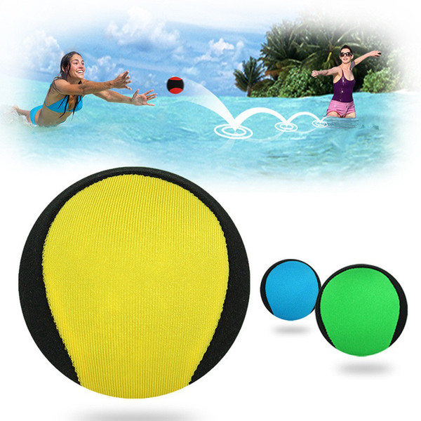 5.6CM Outdoor Toys Water Bouncing Ball Pool Play Beach Ball Skips On Water Game Sports Toy For Swimming Pool Kids Children Adult
