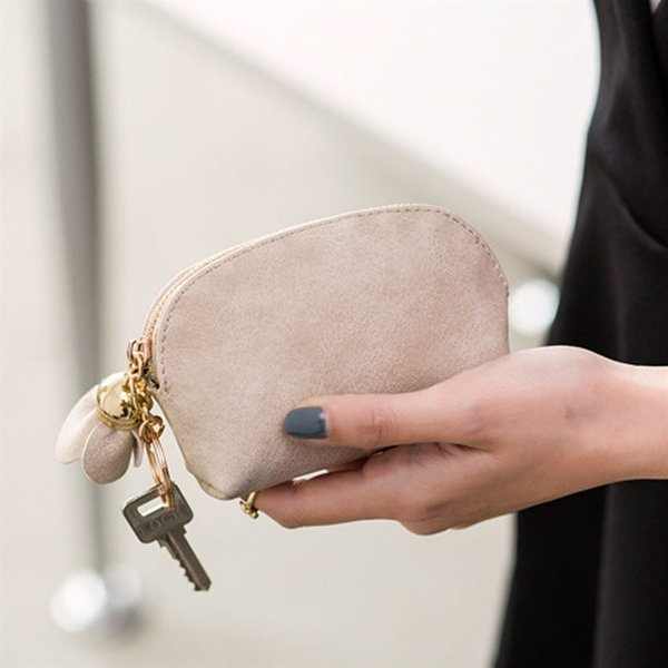 Hot Mini coin purse cute small ladies leather purse for coins wallets 2018 new fashion women wallets female cards holder #C #91115