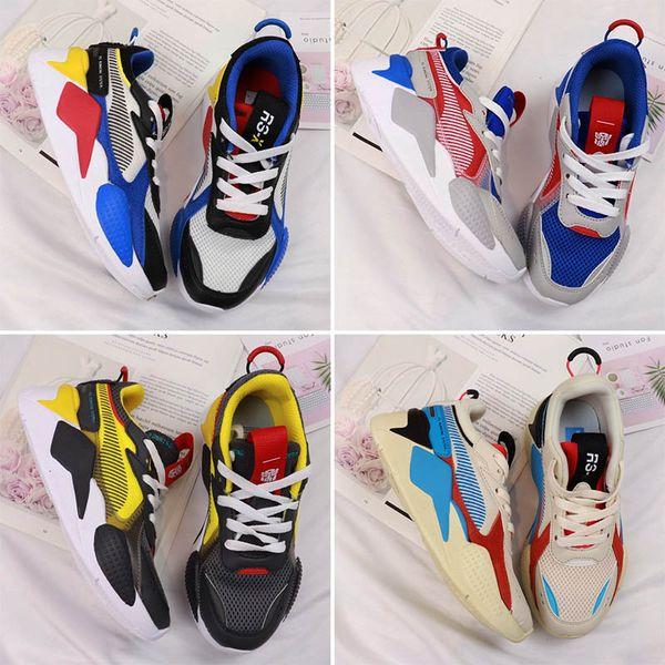 Marque Big Kids Baskets RS-X Toys Release pour enfants, baskets, chaussures de sport pour enfants, chaussures de sport pour enfants, baskets pour adolescents, chaussures pour adolescents