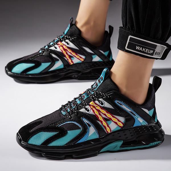 Männer Schuhe Chunky Sneakers Atmungsaktive Tenis Masculino Off Mesh Light White Schuhe Schnürschuhe Männliche Schuhe Adulto Zapatos Hombre
