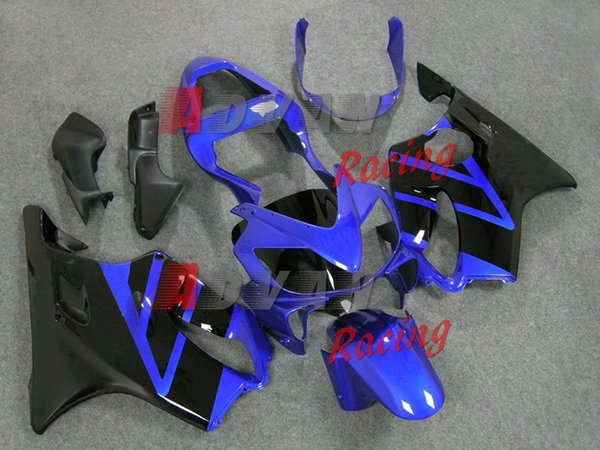New Bodywork ABS fairings Kits Fit for HONDA Injection molded CBR 600 F4i FS 01 02 03 CBR600 2001 2002 2003 fairing kits custom blue black