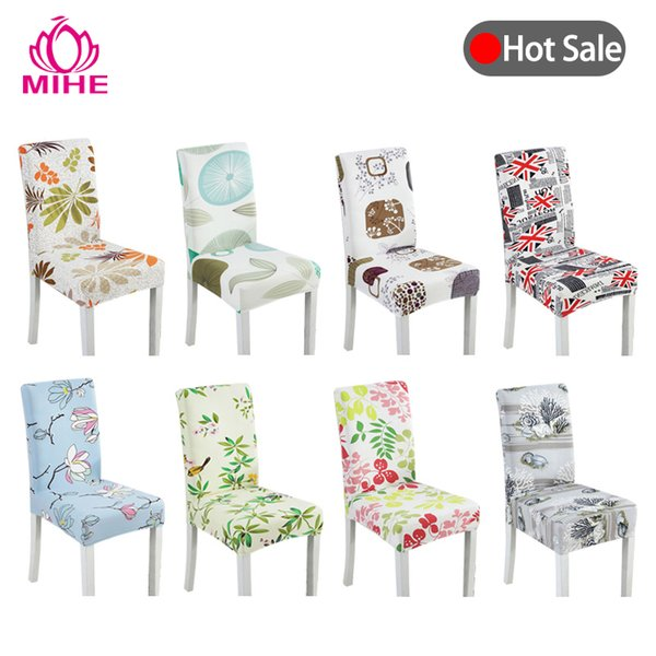 Outstanding Modern Print Chair Cover Dining Stretch Chair Case Spandex Elastic Sofa Car Kitchen Seat Cover Wedding Banquet Yzt02 Cheap Chair Cover Rentals Covers Caraccident5 Cool Chair Designs And Ideas Caraccident5Info