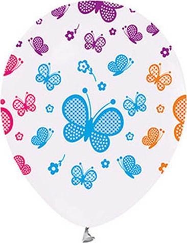 Kullan marché coloré à imprimé papillons Ballon blanc navire de la Turquie HB-000957871