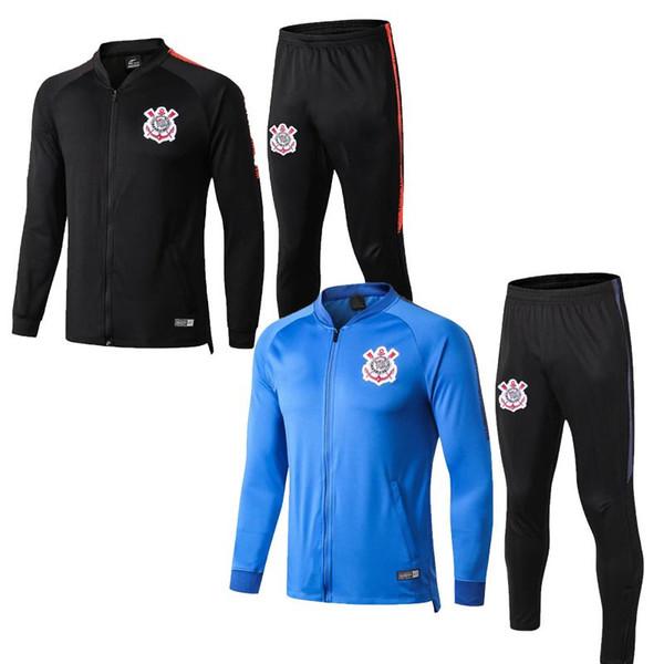 18-19 Corinthians Club Neuheiten Herrenbekleidung Designerjacke Spring Sportswear für Herren 19 20 Corinthians Windbreaker Zipper Jacket