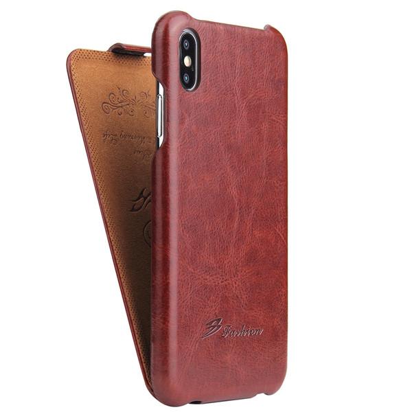 Vente en gros Vertical Flip Housse en cuir pour Apple iPhone XS XR XS Max Protecteur de téléphone Fundas Coque pour iphone XR