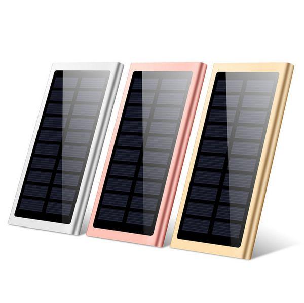 Mumbo-jumbo Solar Energy Ultrathin Move Power Supply Mobile Phone Customized Logo Polymer Metal Charge Precious
