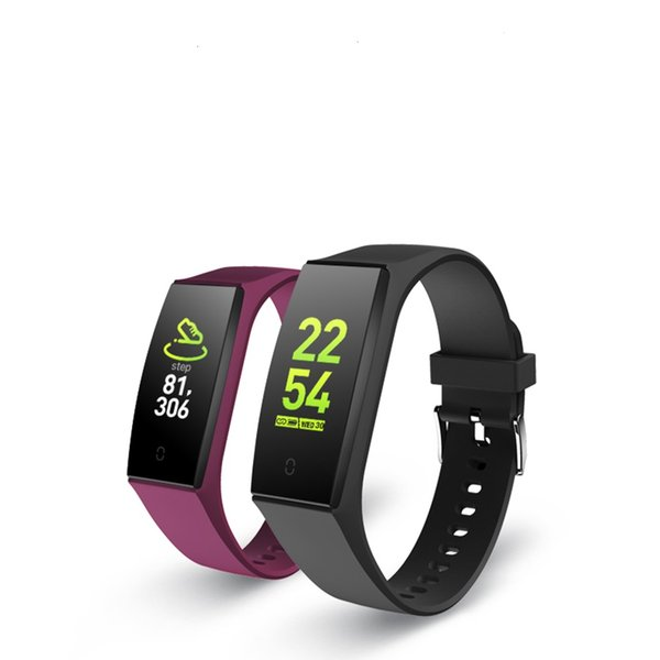 Color Screen Smart Bracelet Variety Of Dial Sports Bracelet Blood Pressure Monitoring Heart Rate Sleep Monitoring Wristband