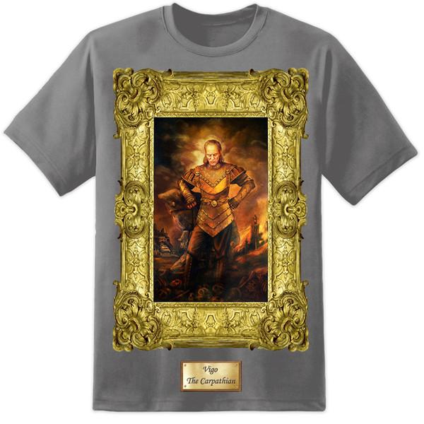 Mens Vigo Ghostbusters Peinture T Shirt Film Retro Classique Original DVD GozerMen Femmes Unisexe De La Mode t-shirt Livraison Gratuite