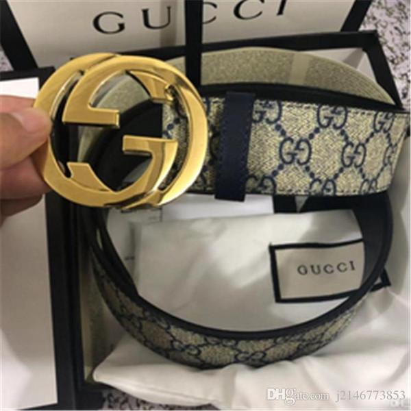 Com caixa de 2019 de Alta qualidade designer de cintura bandas importações realmente moda couro grande casco calçado dos homens cinta cintos com caixa