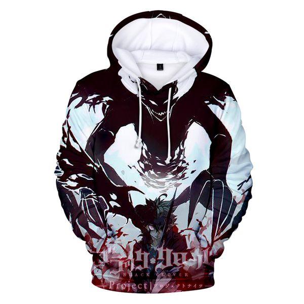 2020 Japan Anime Black Clover 3D Hoodies Sweatshirt BoysGirls Fashion Autumn Winter Pullovers Long Sleeve Confortable Outwear Hoodie From Genguo,
