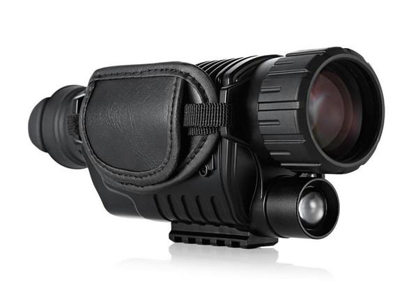Télescope infrarouge de vision nocturne numérique SUNCORE 5 x 40 à fort grossissement avec fonction de sortie vidéo Chasse monoculaire 200m Voir