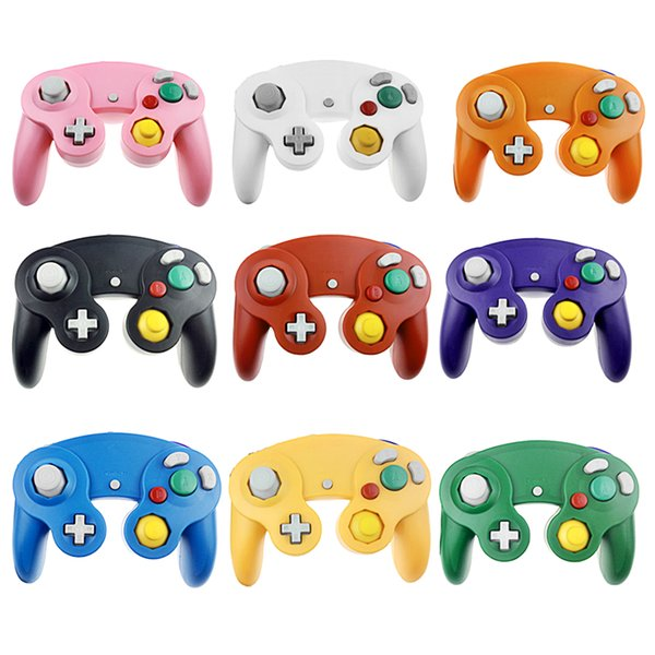 Wired for NGC Game Controller Gamepad for Nintend for GameCube GC Wii Console Fully compatible with all systems Free DHL