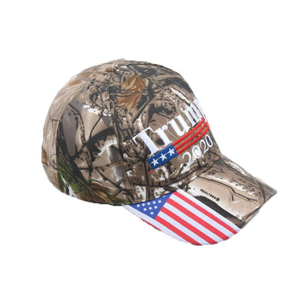 Donald Trump 2020 MAGA Camo Embroidered Hat Keep Make America Great Again Caps