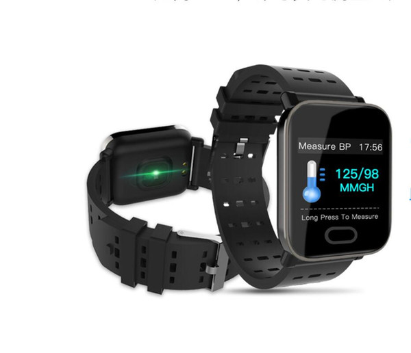 top popular Smart Fitness Track Bracelet Heart-rate Blood Pressure Monitoring Blood Oxygen Monitoring 1.3 Inch Display Smart Bracelet Sport Fitness Trac 2020