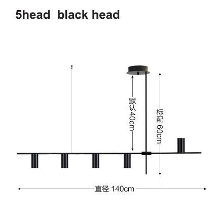 5 헤드 블랙