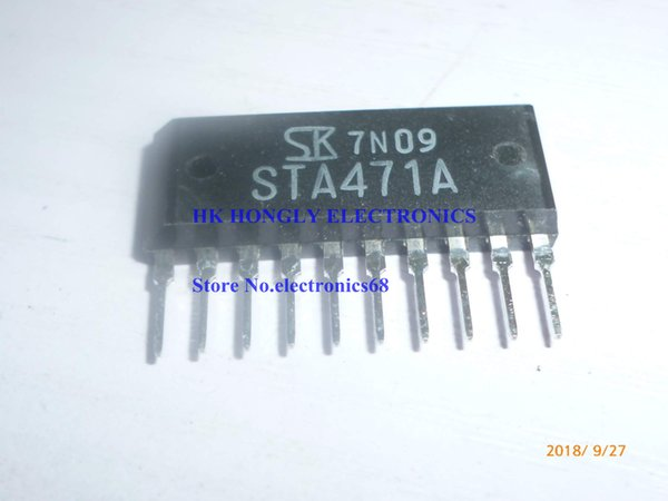 20PCS/LOT STA471A ZIP10 NPN Darlington With built-in avalanche diode