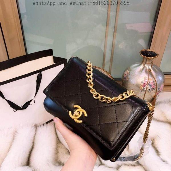 Designer Handbag Luxury Bag Women Handbag Retro Metal Ring Luster Lady Cross Body Bag Vintage Real Leather Shoulder Bag 23x17x9cm 104039