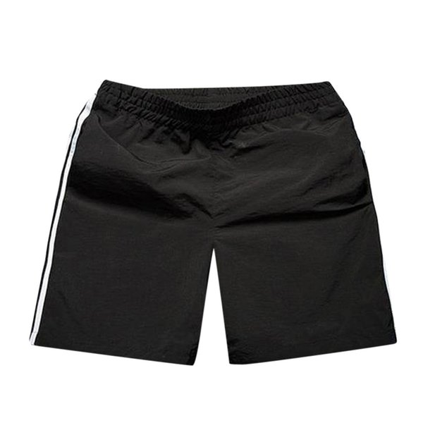 Men Quick Dry Beach Shorts Summer Solid Color Surfing Running Elastic Waistband Short Pants Casual Loose Beach Shorts @40