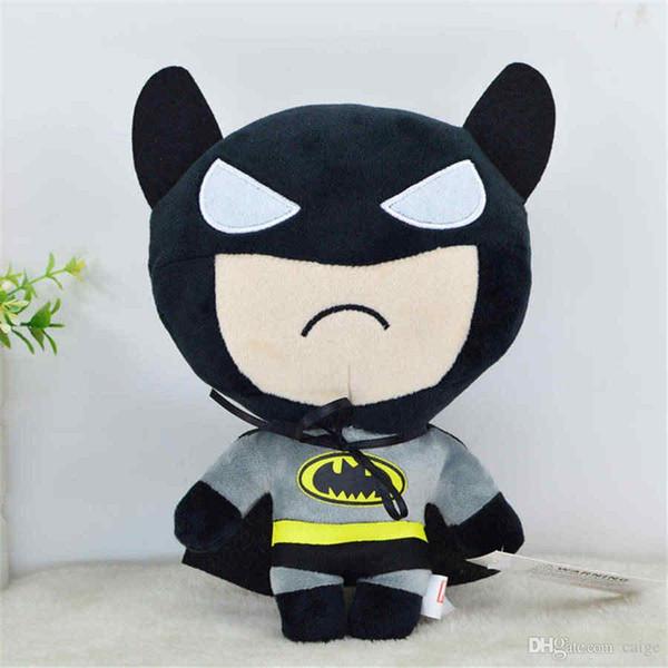 Cartoon Batman le plus chaud de poupée en peluche Jouets pour enfants The Avengers Poupées bureau Décoration de voiture Décoration Jeux d'enfants