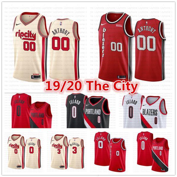 best selling 2019 New Vintage Men's Portland Trail Damian #0 Lillard C.J Cj #3 McCollum Blazer Jersey Clyde 22 Drexler Stitched Basketball Jerseys Fri