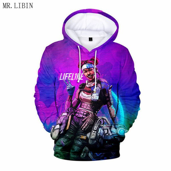 New Fashion Apex Legends 3D Hoodies Men women Hot Game Streetwear Harajuku 3D Print Apex Legends Men's Hoodies Sweatshirt