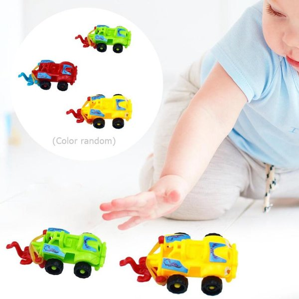 Plastic Assembled Racing Car Model Toy DIY Motorcycle Kids Montessori Education Toys For Children Development Gift