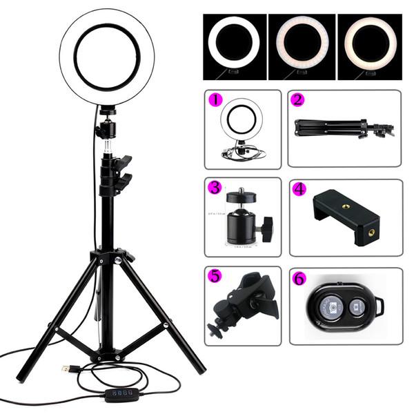 1 7mètre Téléphone Beauté 6 Selfie Maquillage Lumière Anneau Avec De Acheter Trépied Led Caméra Studio Dimmable Lampe Vidéo 1 8nOXNw0PkZ