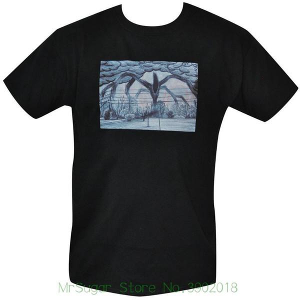T Shirt Wills Drawing Mens Black All Sizes S To 3xl Stranger Things Printed T Shirt Short Sleeve Men