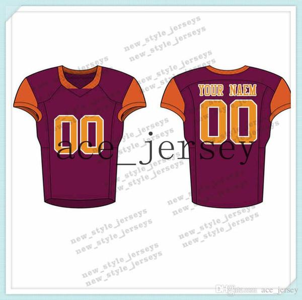 109Men 2019 Juventude Camisas de Futebol Do Exército Verde Vinho Vermelho Bordado Logos Costurado Costume Qualquer nome Qualquer número Jerseys