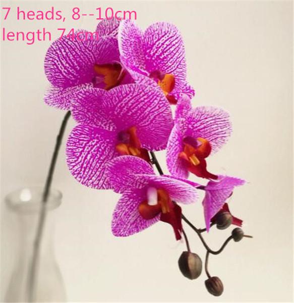 Orquidea morada de 74cm