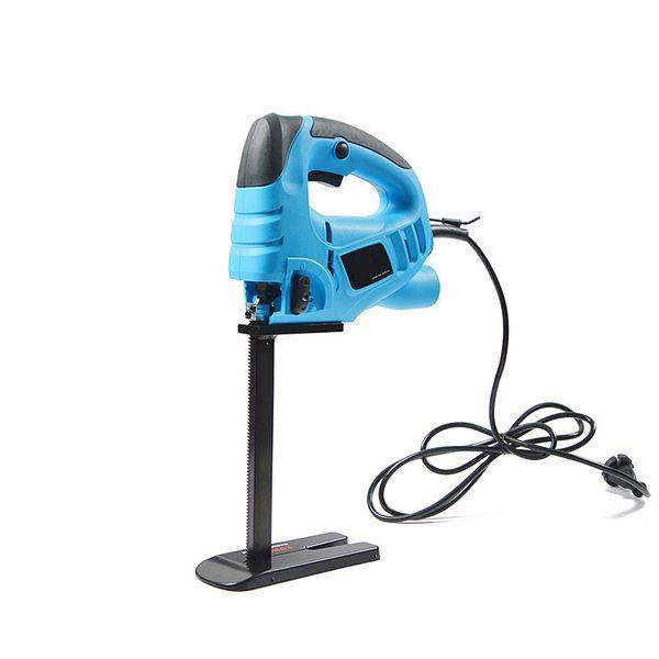 top popular 30cm foam rubber cutter electric sponge cutting tool saw machine handheld reciprocating saw 570w sponge cutting tool free shipping 2021