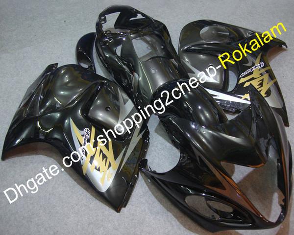 Cowling For Suzuki Hayabusa GSXR1300 GSX-R 1300 GSXR 1300 2008 2009 2010 2011 2012 2013 2014 2015 2016 Black Fairing Kit (Injection molding)