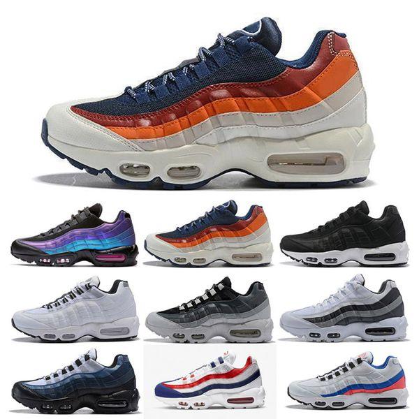 nike air max 95 2019 Hommes Baskets Laser Fuchsia Runnning Chaussures OG USA Ultra 20ème Anniversaire Pour Hommes Femmes Triple Blanc Noir Designer Sneakers