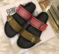 Top Men Women Sandals with Dust Bag Designer Shoes snake print Luxury Slide Summer Fashion Wide Flat Sandals Slipper 110