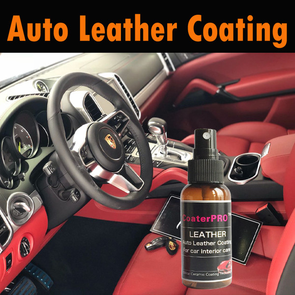 leather CoaterPRO Auto interior /Vinyl coating Upholstery coat make it shiny and soft factory look Superior Hydrophobic seat care